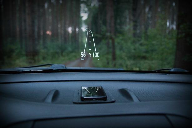 GPS vitesse voiture